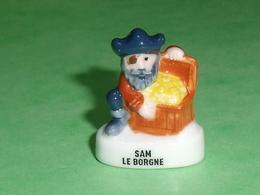 Fèves Personnalisée : Pirate , Sam Le Borgne  ( Banette )    T127 - Cartoons
