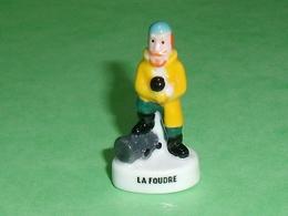 Fèves Personnalisée : La Foudre  ( Banette )    T127 - Cartoons