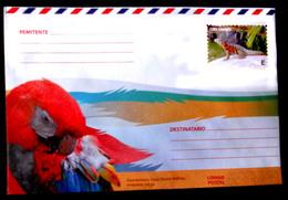 2864  Parrots - Perroquets - Reptils -  Postal Stationery 2018 - Unused - 1,95 - Pappagalli & Tropicali