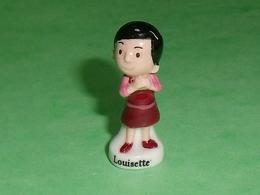 Fèves Personnalisée : Louisette  ( La Mie Caline )  M6 Studio    T127 - Cartoons