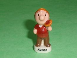 Fèves Personnalisée : Alceste  ( La Mie Caline )  M6 Studio    T127 - Cartoons
