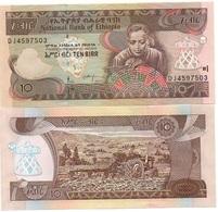 Ethiopia - 10 Birr 2017 ( 2009 ) UNC Ukr-OP - Aethiopien