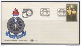 070507 South Africa  1981 - 50 Years VOORTREKKERS Scouts FDC - Afrique Du Sud Afrika RSA - South Africa (1961-...)