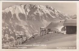 AUTRICHE--sessel-lift-bergstation & Gasthaus GRABS 1400m--TSCHAGGUNS-VORARLBERG--voir 2 Scans - Autriche