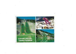 Carte Postale Courchevel (73) Tremplin Olympique Multi-vues - Courchevel