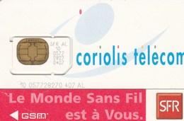 France - SFR Coriolis Telecom - GSM SIM Card - Mint - France