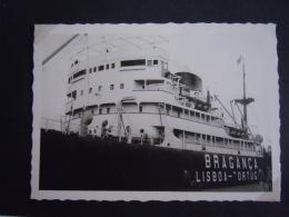 Photo' Form. 7,2 X 10,2 Cm Bateau S/s Branganca Dans Le Port D' Anvers 1964 - Boats