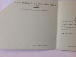DH. 84. Amicale Des élèves Agronomes D'Ath, Bal Privé Au Palace. Vers 1935 - Historical Documents