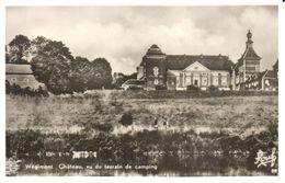 Soumagne - CP - Wégimont  Château Vu Du Terrain De Camping - Soumagne