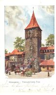 Deutschland - Bavière - Nürnberg - Tiergärtner - Tor - Nuernberg