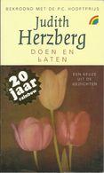 DOEN EN LATEN - JUDITH HERZBERG - RAINBOW POCKET N° 172 - Poésie
