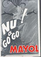 Paris : Programme MAYOL  : NU A GOGO 1964 (PPP9010) - Programs