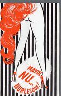 Paris : Programme MAYOL  : NU BURLESQUE (1968) (PPP9012) - Programs
