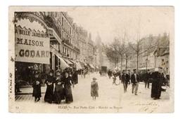 D 41 Cpa - BLOIS  - RUE  PORTE  COTE - MARCHE  AU  BEURRE   -  5866  MA - Blois