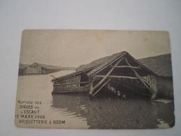 Boom // Overstroming // Rupture Des Digues De L'Escaut 12 Mars 1906 // 19?? - Boom