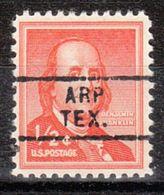 USA Precancel Vorausentwertung Preo, Locals Texas, Arp 729 - Vorausentwertungen