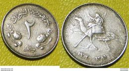 SUDAN / 2 Qirsh  /1962 / KM 33 / VVVVVVVVRARE - Sudan