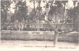 FR66 PERPIGNAN - Couderc 4 - Préfecture - Manifestation Viticole De 1907 - Pub PICON - Animée - Belle - Perpignan