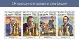 Guinea 2018  Gary Kasparov  Chess S201806 - Guinea (1958-...)