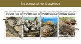 Guinea 2018  Endangered Animals  S201806 - Guinea (1958-...)