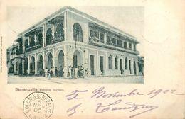 Barranquilla - Colombia Colombie - 1902 - Pension Inglesa - Cachet Paquebot Colon à St Nazaire L.A. N°2 - AA6 - Colombie