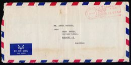 SAUDI ARABIA Postal History Cover, Meter Franking Used With Arabic Date, From JEDDAH-9 - Saudi Arabia