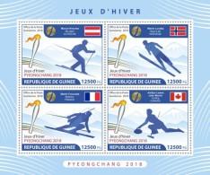 Guinea 2018  Winter Games 2018  S201806 - Guinea (1958-...)