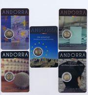 Andorra -2 Euro Commemorativo - Anno 2014 - 2015 - 2016 - Andorre