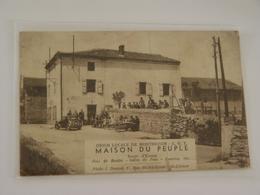 LOIRE-MONTBRISON-UNION LOCALE DE MONTBRISON CGT MAISON DU PEUPLE RAREET LOT 3 DOCS CARTE CGT 1936-1938-UNION DES SPORTS - Montbrison