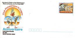 Nouvelle Calédonie Prêt à Poster (PAP) 2007 40ème Anniversaire Du Club Philatélique Le Cagou Neuve - Prêt-à-poster