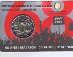 Belgio - 2 Euro Commemorativo Anno 2018 -  Rivolta Studentesca - Belgio