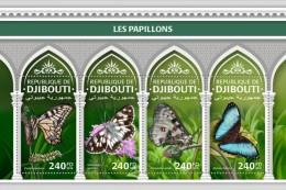 Djibouti 2018 Butterflies  201806 - Djibouti (1977-...)