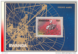 Rwanda BL 074** Viking Sur Mars  MNH - Rwanda