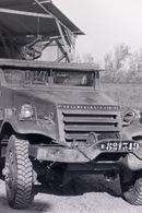 Camion Militaire NEGATIF Des Années 60 En Algérie VOIR DESCRIPTION - Guerre, Militaire