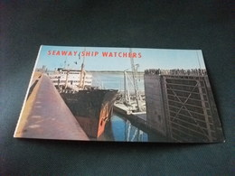 NAVE SHIP  ARTIC SEAWAY SHIP WATCHERS  EISENHOWER LOCK - Commercio