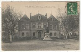 21 - NOLAY - Place De L'Hôtel De Ville - Frankrijk