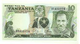 Tanzania - 10 Shilingi 1978, - Tanzanie