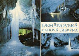 2 CP Slovaquie - Grotte De Jaskyna, Multi-vues - 2 Cartes - Slovaquie