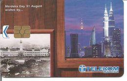 Télécarte De Malaisie - 31 AOUT -  FETE NATIONALE - MERDEKA DAY ( Millenium Edition ) - Malaysia