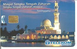 Télécarte De Malaisie - MOSQUEE TENGKU TENGAH ZAHARAH ( Etat Du Terengganu ) RM 20 - Malaysia