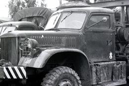 Camion Militaire Dépanneuse NEGATIF Des Années 60 En Algérie VOIR Description - Guerre, Militaire