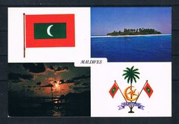 (2407) AK Maldiven - Mehrbildkarte - Maldiven