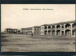 CPA - ISTRES - Camp D'Aviation - Cour D'Honneur, Animé - 1919-1938: Between Wars