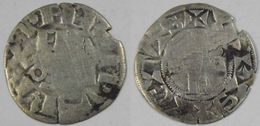 Ile De France Paris Denier Parisius Philippe II Auguste - 1180-1223 Filips II Van Frankrijk (Augustus)