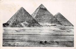 ¤¤  -  EGYPTE  - LE CAIRE  -  Carte-Photo Des Pyramides De Gizeh    -  ¤¤ - Cairo