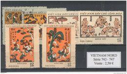 Vietnam Du Nord.  Art - Viêt-Nam