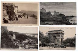 LOT  DE 48 CARTES  POSTALES  ANCIENNES  DIVERS  FRANCE  N50 - Cartes Postales