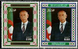 AS5217 Algeria 1992 President And National Flag 2V MNH - Algérie (1962-...)