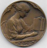Médaille En Bronze - Caisse Des Ecoles CLAMART - Unclassified