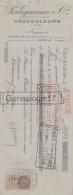 55 253 VAUCOULEURS MEUSE 1934 Chemises Gilets Flanelle SEILIGMANN Cie à CHARLES MARSEILLER De CHATEAUNEUF DU FAOU - Bills Of Exchange
